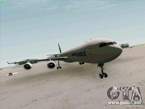 Airbus A-340-600 para GTA San Andreas