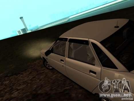 VAZ-21103 para GTA San Andreas vista posterior izquierda