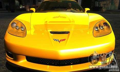 Chevrolet Corvette Grand Sport 2010 para vista lateral GTA San Andreas