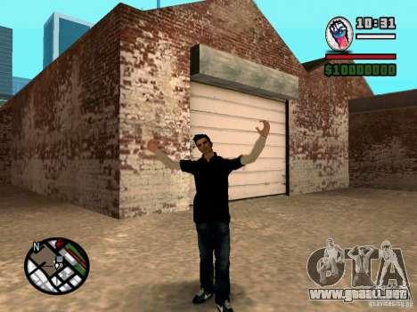 Slaude FXstyle para GTA San Andreas tercera pantalla