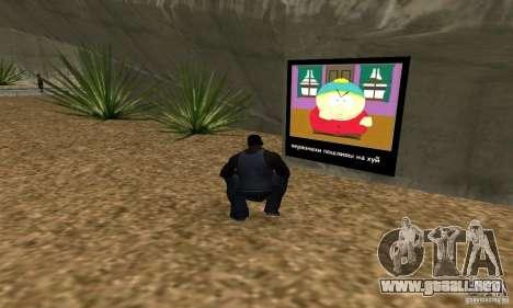 South Park Grafitti Mod para GTA San Andreas tercera pantalla