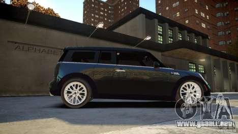 Mini Cooper Clubman para GTA 4 visión correcta