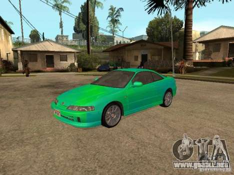 Honda Integra 2000 para vista lateral GTA San Andreas