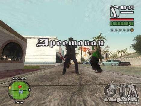 Piss Piss mod para GTA San Andreas tercera pantalla