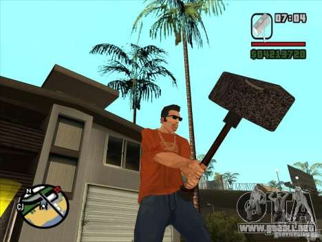 Martillo del WarCraft III para GTA San Andreas