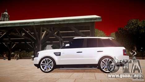 Range Rover Sport Supercharged v1.0 2010 para GTA 4 left