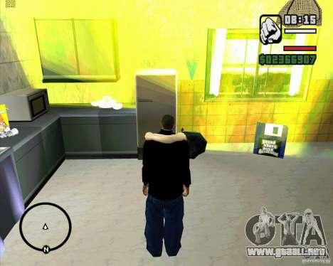 Hacer basura para GTA San Andreas segunda pantalla