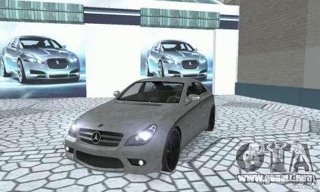 Mercedes-Benz CLS 63 AMG para visión interna GTA San Andreas