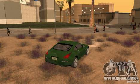Nissan 350Z stock para GTA San Andreas left