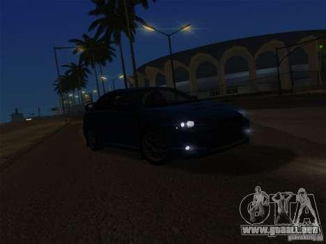 IG ENBSeries v2.0 para GTA San Andreas quinta pantalla