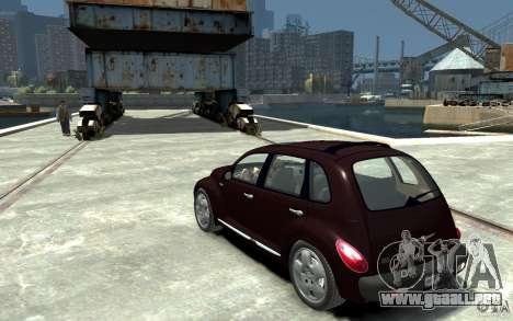 Chrysler PT Cruiser para GTA 4 Vista posterior izquierda