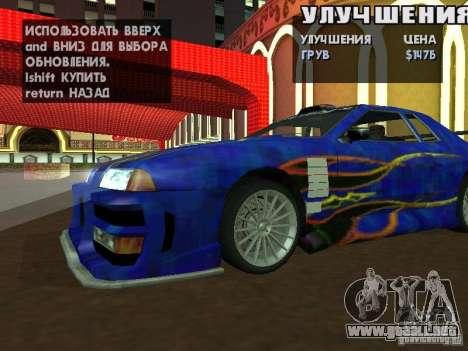 SA HQ Wheels para GTA San Andreas sucesivamente de pantalla