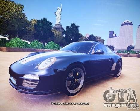Porsche 911 Sport Classic 2011 v2.0 para GTA 4 left