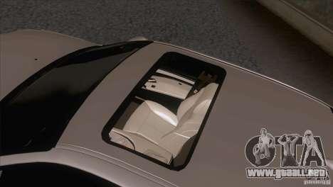 BMW M5 2009 para vista inferior GTA San Andreas