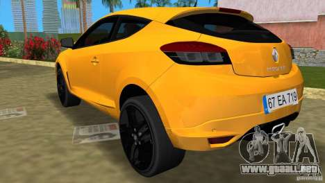 Renault Megane 3 Sport para GTA Vice City left