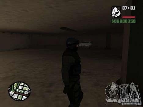 Umbrella soldier para GTA San Andreas tercera pantalla