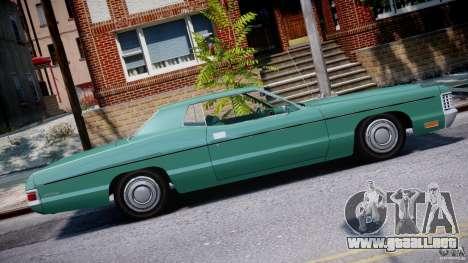 Mercury Monterey 2DR 1972 para GTA 4 left