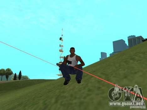 Laser Weapon Pack para GTA San Andreas tercera pantalla