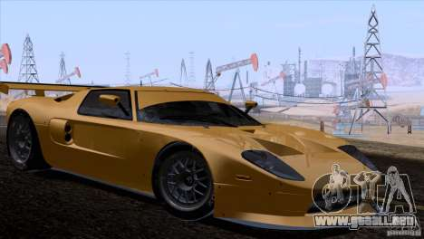Ford GT Matech GT3 Series para GTA San Andreas