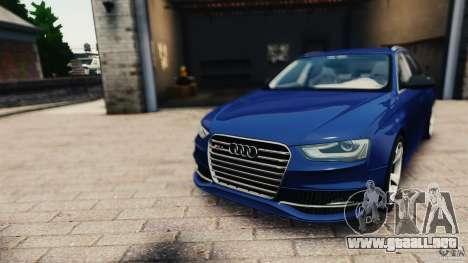 Audi RS4 Avant 2013 v2.0 para GTA 4