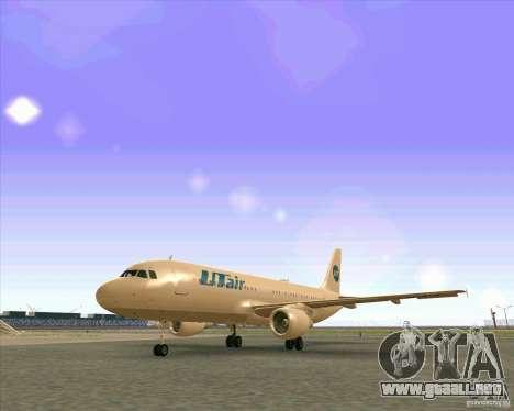 Airbus A-320 aerolínea UTair para GTA San Andreas