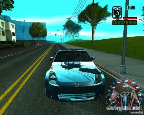 ENB by Makc para GTA San Andreas segunda pantalla