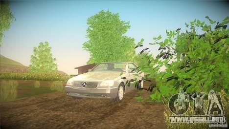 Mercedes Benz 600 SEC para GTA San Andreas