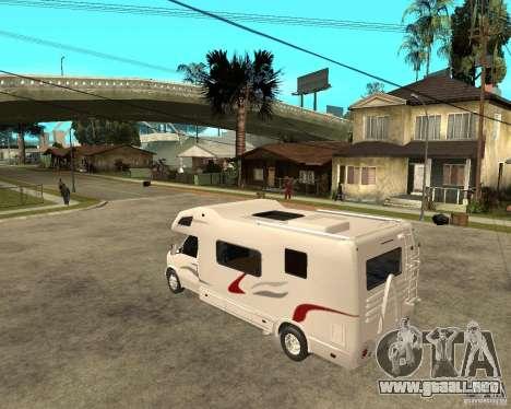 Chevrolet Camper para GTA San Andreas left