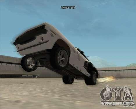 Plymouth Hemi Cuda Rogue para GTA San Andreas