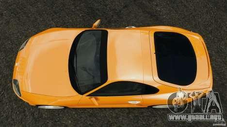 Toyota Supra Tuning para GTA 4 visión correcta
