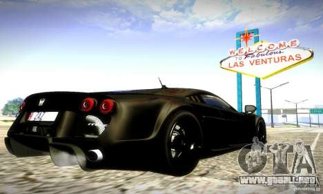 Noble M600 Final para vista lateral GTA San Andreas