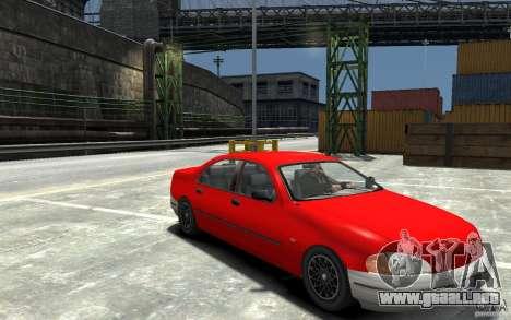 Kuruma de GTA 3 para GTA 4 vista hacia atrás