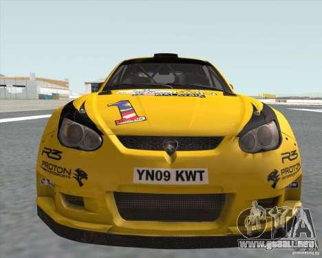 Satria Neo S2000 para GTA San Andreas vista posterior izquierda
