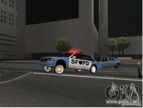 Deluxo Wheels Mod para GTA San Andreas segunda pantalla