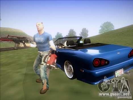 Elegy Cabrio Edition para la visión correcta GTA San Andreas