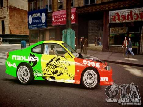 Nissan Silvia S15 Boso Drift Formula D M-Design para GTA 4 vista interior