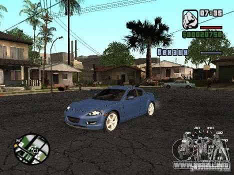 Mazda RX 8 para GTA San Andreas