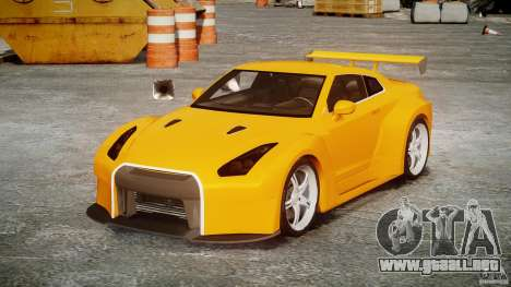 Nissan Skyline R35 GTR para GTA 4