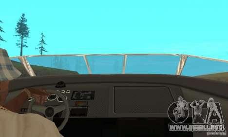 GTAIV TBOGT Floater para GTA San Andreas vista hacia atrás