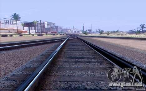 TREN ruso versión v1.0 para GTA San Andreas segunda pantalla