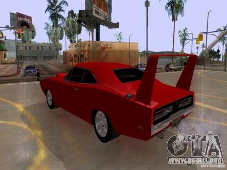 Dodge Charger Daytona 440 para GTA San Andreas left