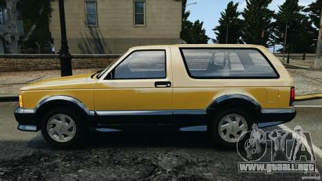GMC Typhoon v1.1 para GTA 4 left