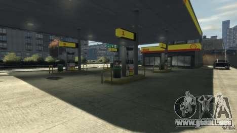 Shell Petrol Station para GTA 4 tercera pantalla