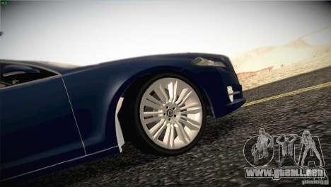 Jaguar XJ 2010 V1.0 para el motor de GTA San Andreas