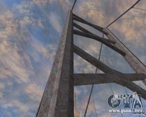 Nuevas texturas de tres puentes en SF para GTA San Andreas tercera pantalla