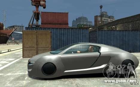 Audi RSQ Concept para GTA 4 left