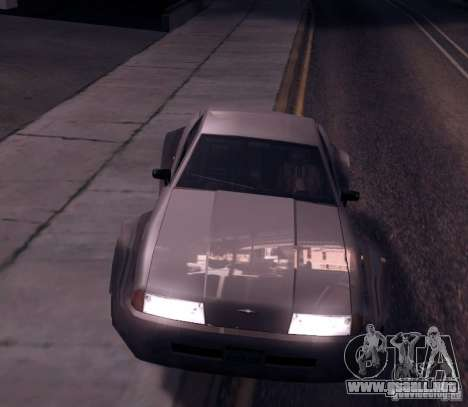Elegy Wide Body para GTA San Andreas left
