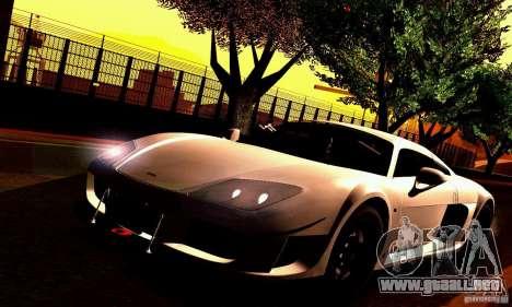 Noble M600 para visión interna GTA San Andreas