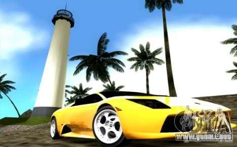 2005 Lamborghini Murcielago para GTA Vice City visión correcta