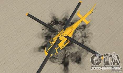 El helicóptero de consejos de gta 4 para la visión correcta GTA San Andreas